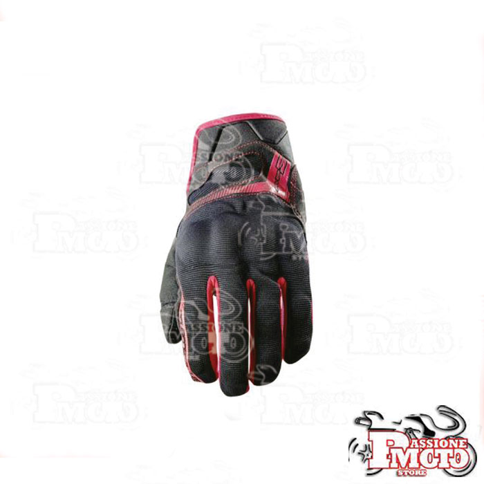 Guanti Five Gloves RS3 Black/Red