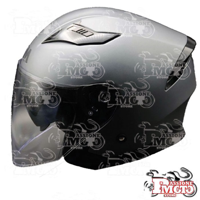 Casco FM by Fimez 321 Antracite Opaco/ Nero Lucido