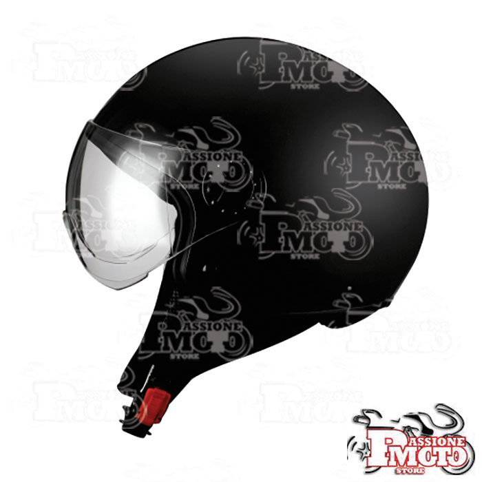Casco Jet BHR One 801 Matt Black