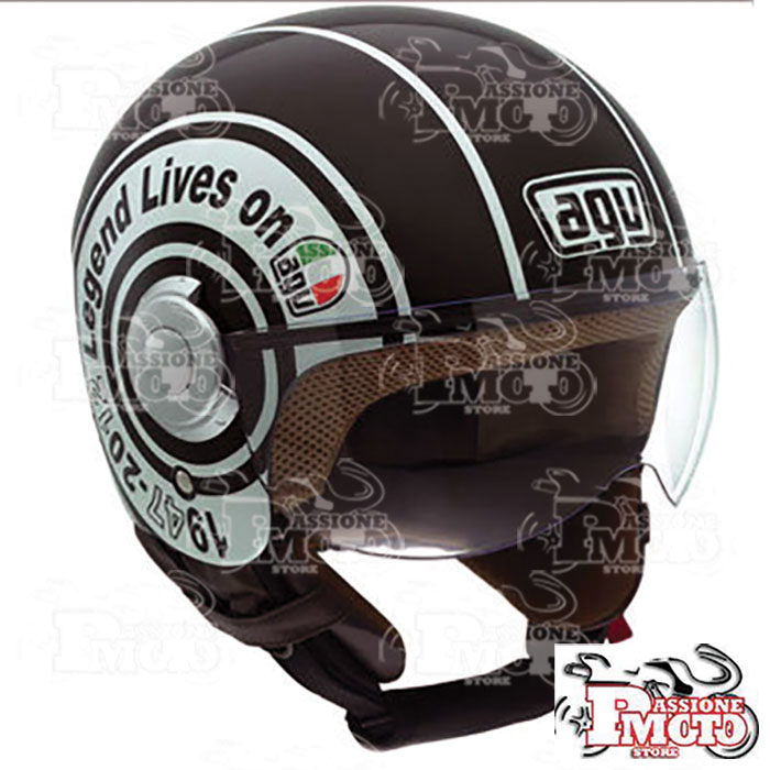 Casco AGV Bali Copter Legend Black