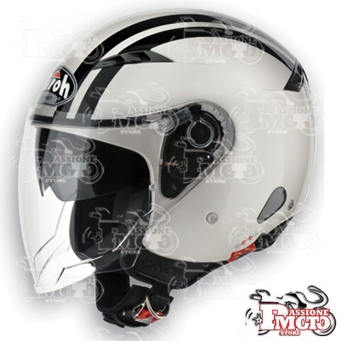 Casco Airoh City One Flash Pearl Gloss