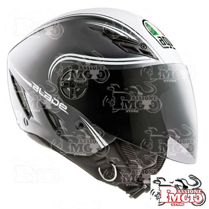 Casco AGV Blade Start Grey/White