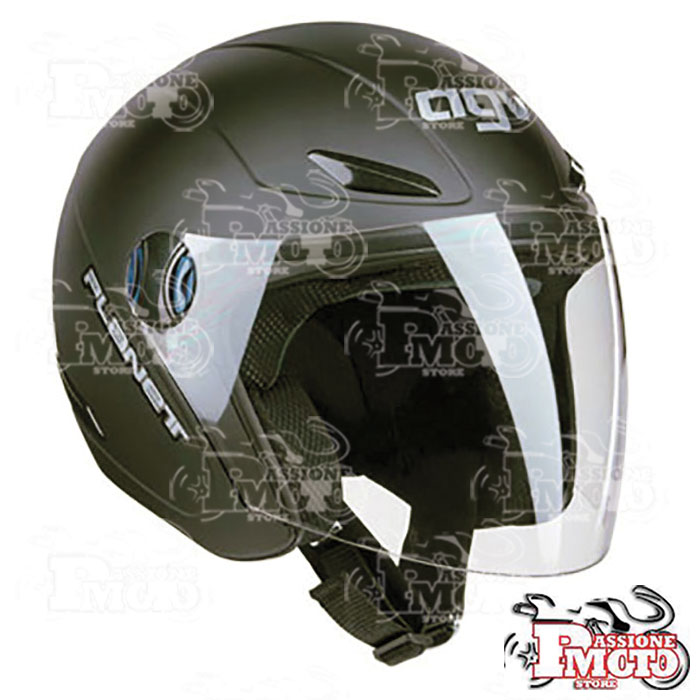 Casco AGV Planet Black Matt