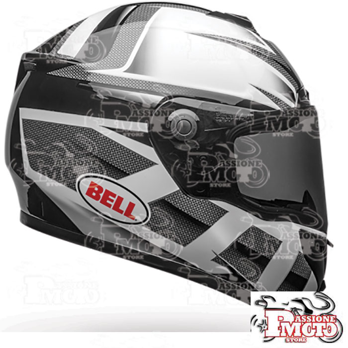 Casco Bell SRT Predator Gloss White/Black