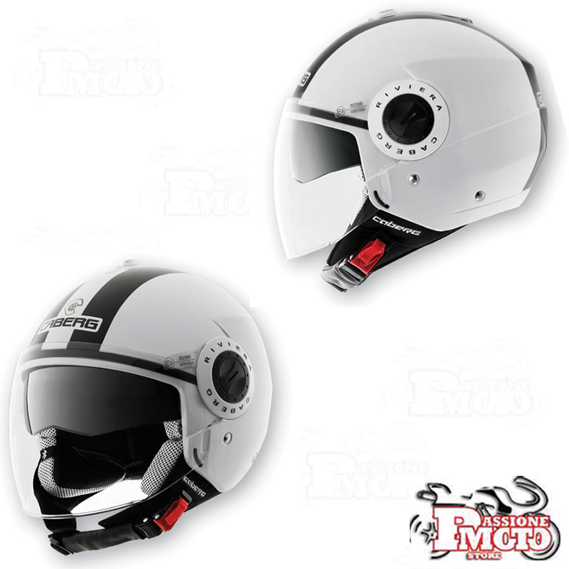 Casco Caberg Riviera V2 White-Black