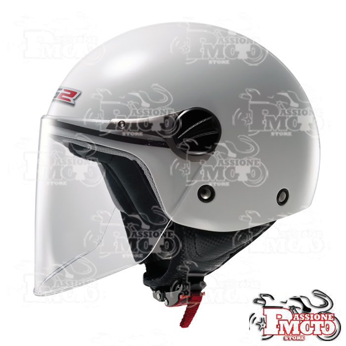 Casco Jet Bimbo LS2 OF575 Wuby Solid White