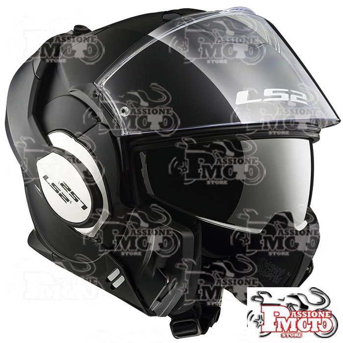 Casco Modulare FF399 Valiant Single Mono Matt Black