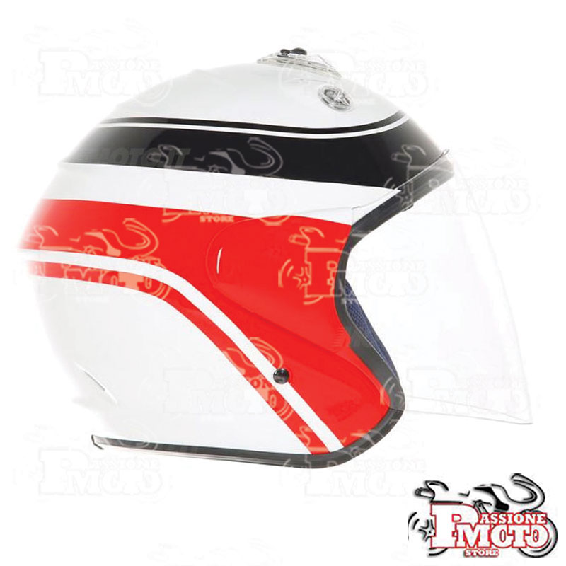 Casco Mille Miglia Nomad by Suomy White/Red