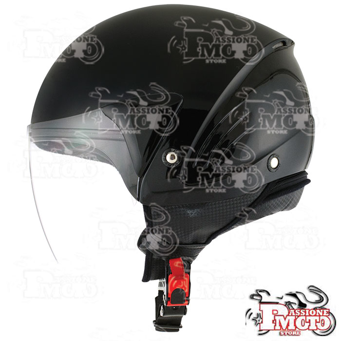 Casco Kyt Cougar Plain Black