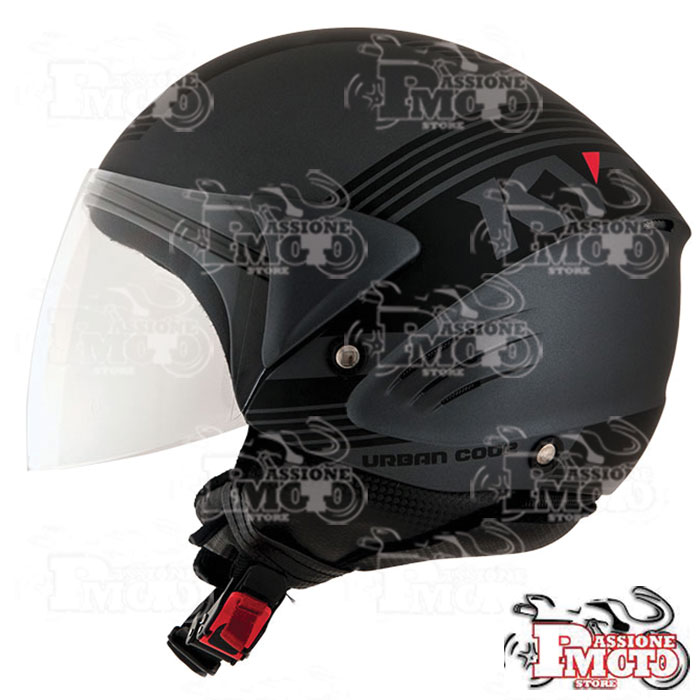Casco Kyt Cougar Urban Code Matt Anthracite