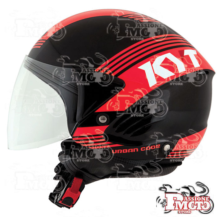Casco Kyt Cougar Urban Code Red