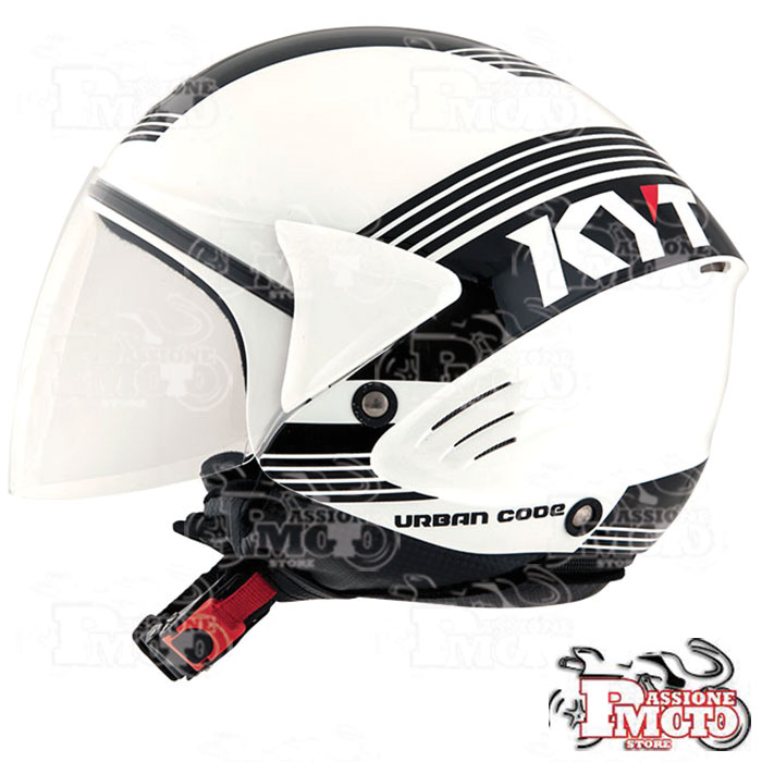 Casco Kyt Cougar Urban Code White