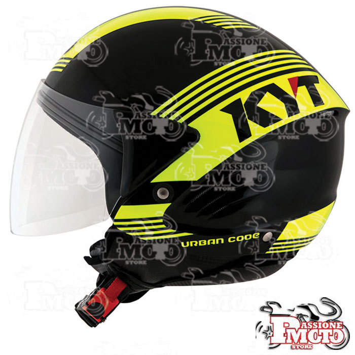 Casco Kyt Cougar Urban Code Yellow