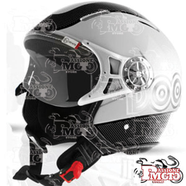 Casco Dooa City Trend CS06D Nero/Silver