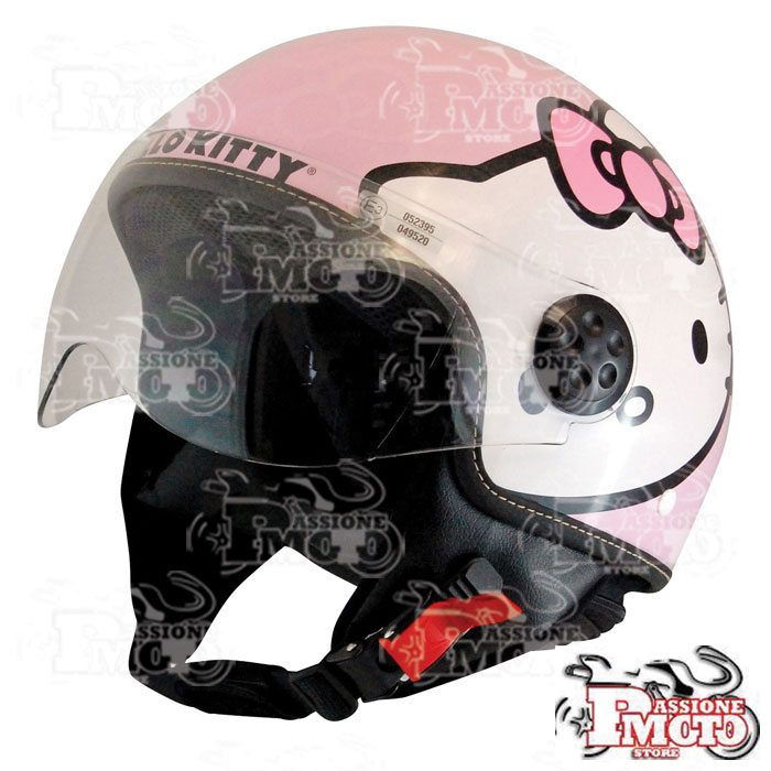 Casco Hello Kitty Rosa