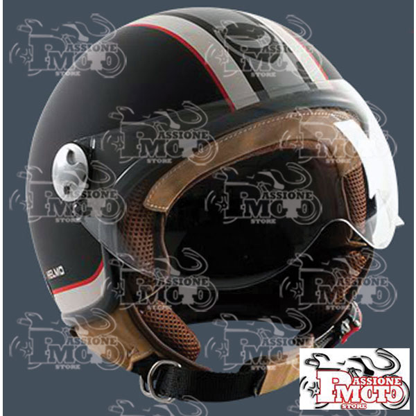 Casco Helmo Milano Helmetto Matt Black