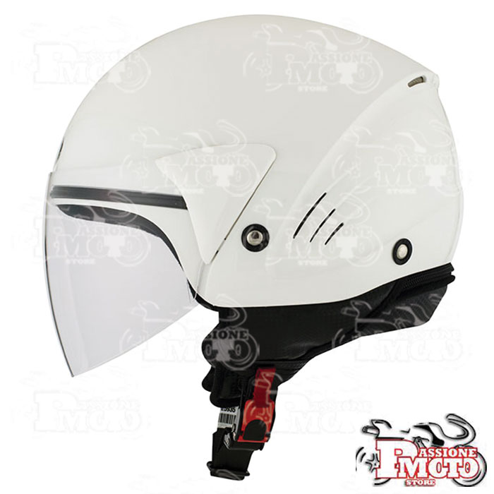 Casco Kyt Cougar Plain White