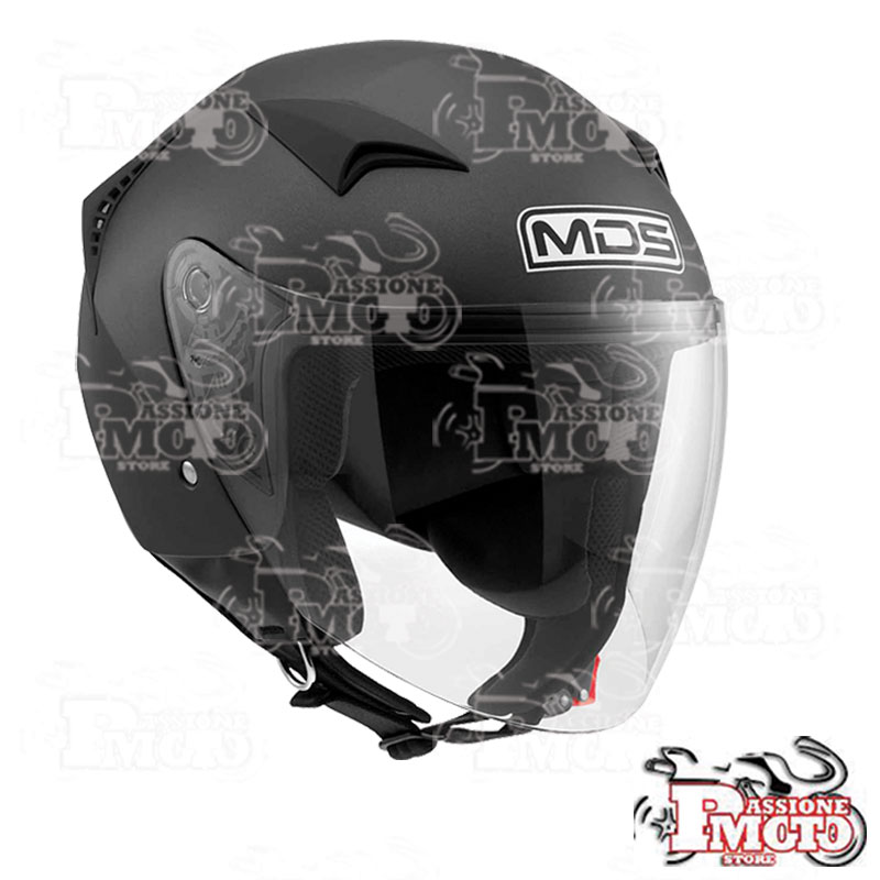 Casco Jet MDS G240 Mono Black Matt