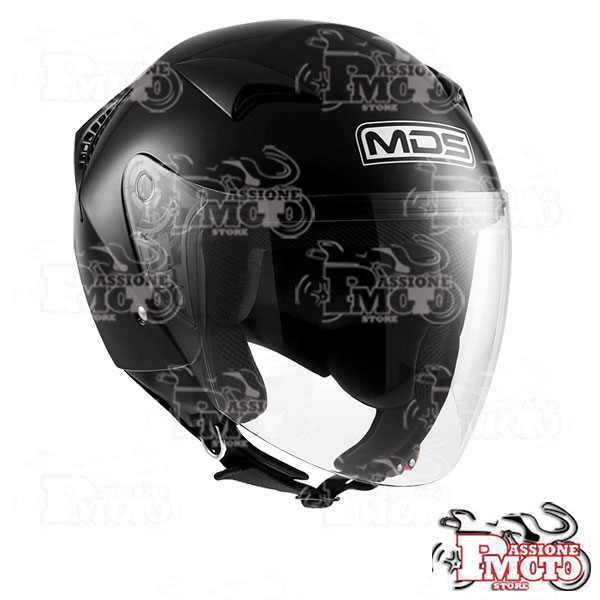 Casco Jet MDS G240 Mono Black