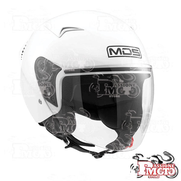 Casco Jet MDS G240 Mono White
