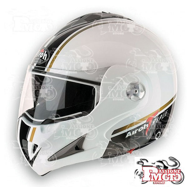 Casco Apribile Airoh Mathisse RS X Triple White