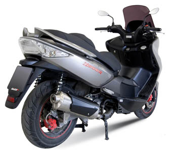 Silenziatore Mivv City Run per Kymco Exciting 300 07