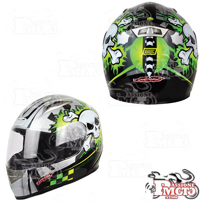 Casco Integrale Origine Combat Lime