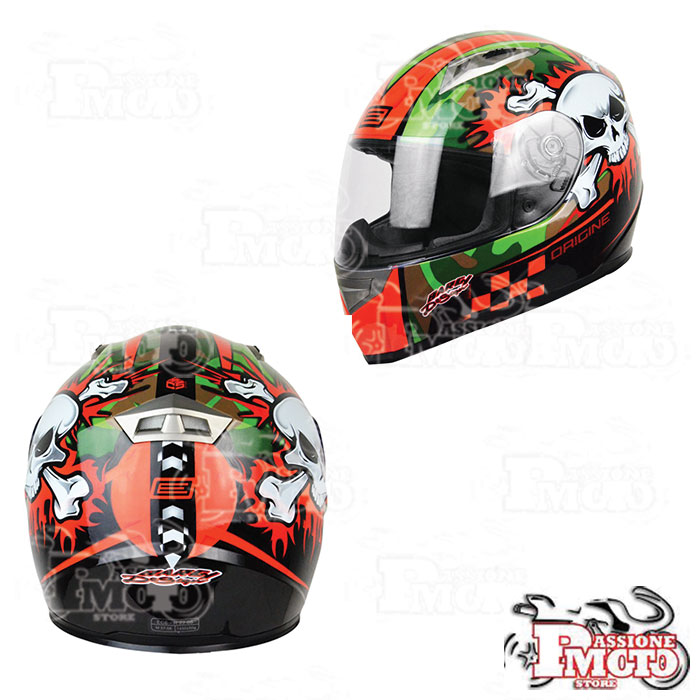 Casco Integrale Origine Combat Orange