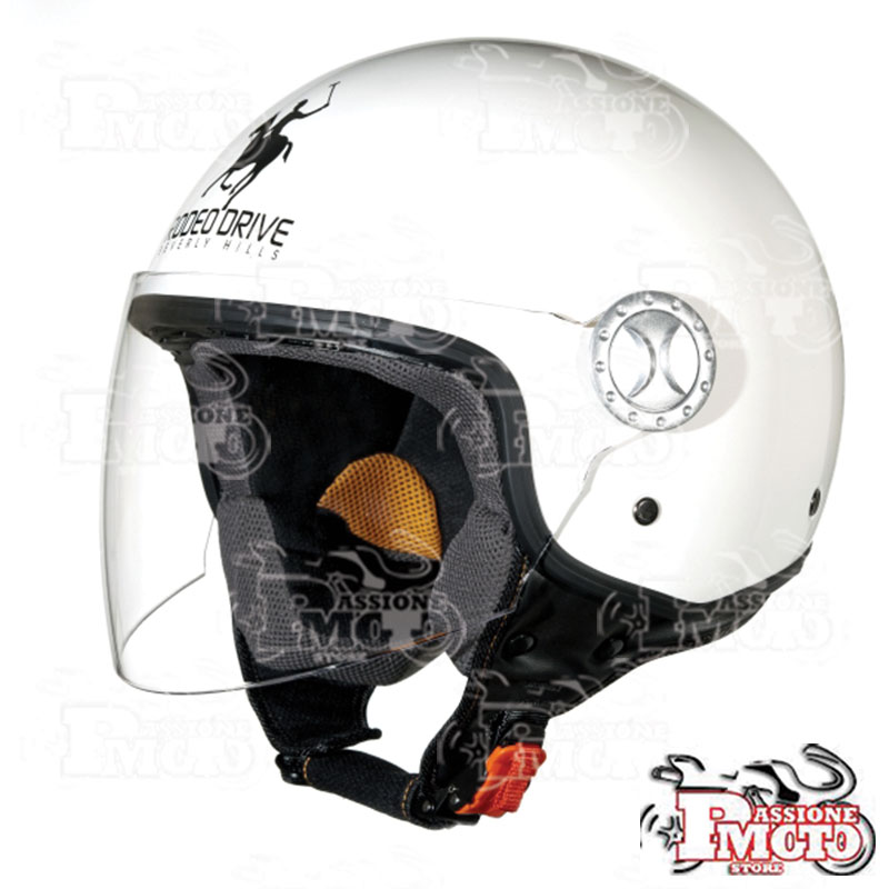 Casco Jet Rodeo Drive RD 104 White