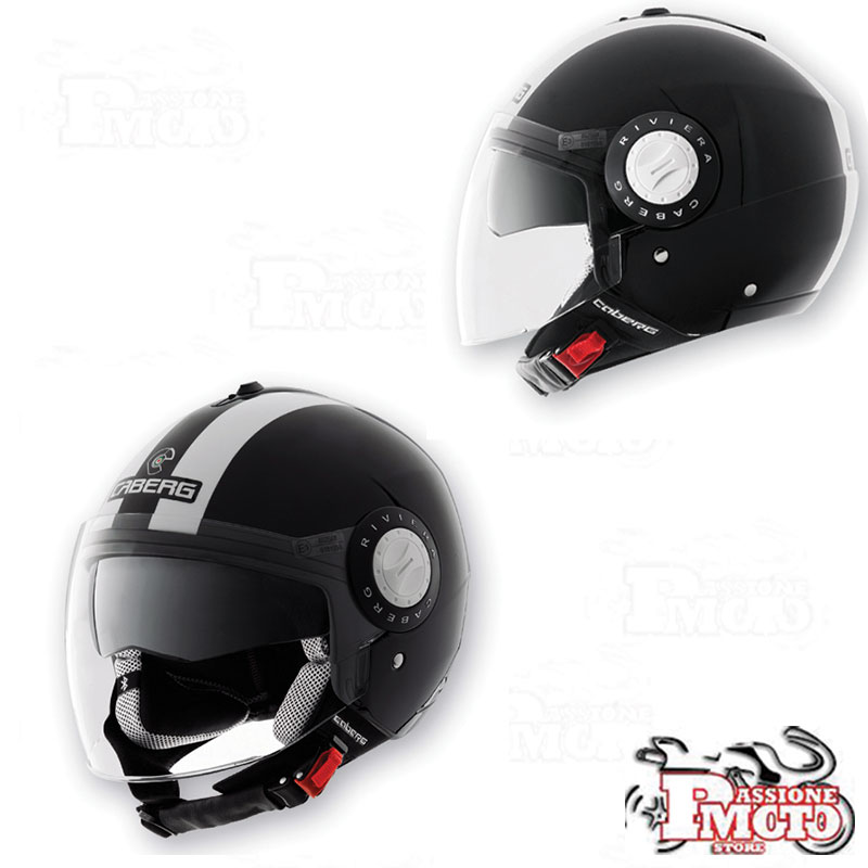 Casco Caberg Riviera V2+ Legend Black/White