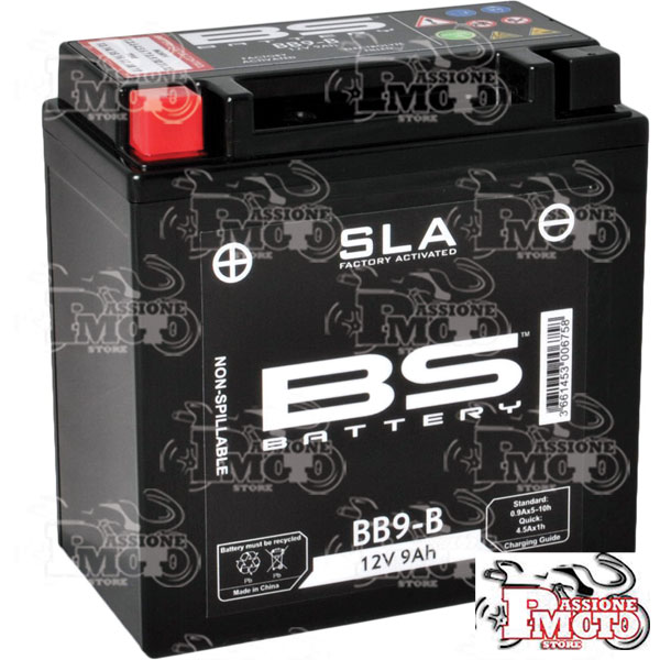 Batteria SLA BS Battery YB9-B