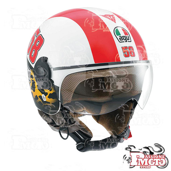 Casco AGV Bali Copter Simoncelli Tribute