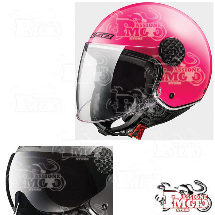 Casco LS2 OF558 Sphere Lux Gloss Pink