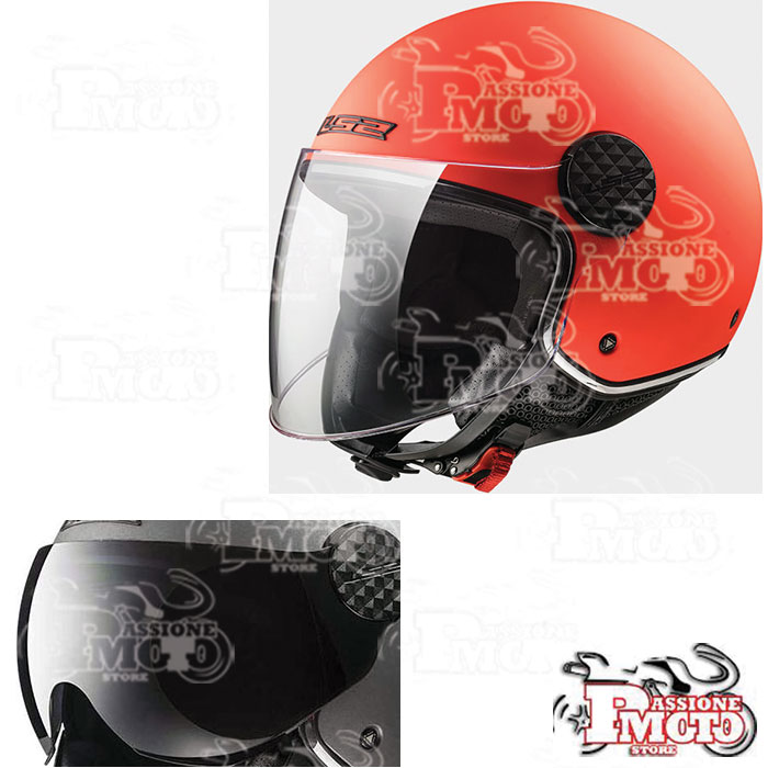 Casco LS2 OF558 Sphere Lux Matt Orange