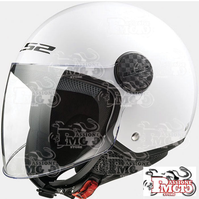 Casco Ls2 OF558 Sphere Gloss White