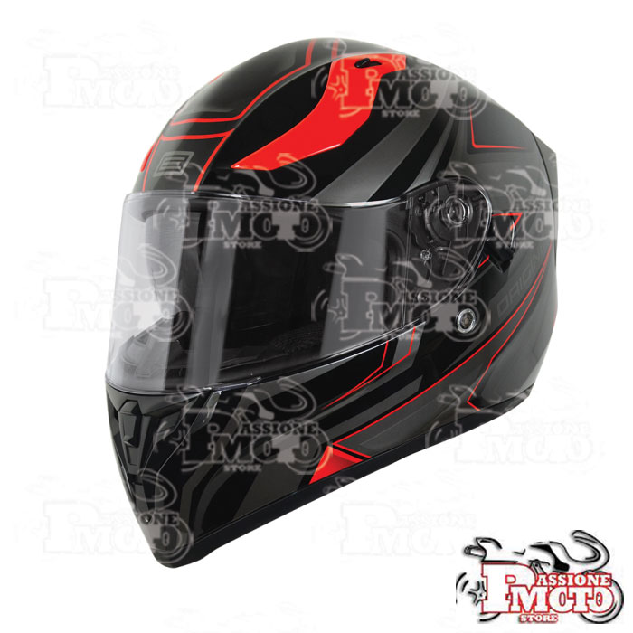 Casco Origine Strada Graviter Red/Black