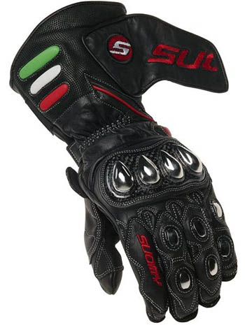 Guanti Suomy Racing Black