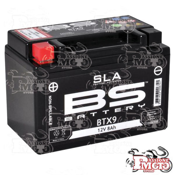 Batteria SLA BS Battery YTX9-BS