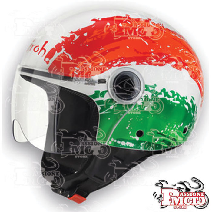 Casco Jet Airoh Compact Flag Gloss