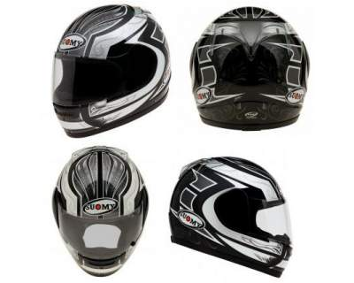Casco Suomy Defender Grey