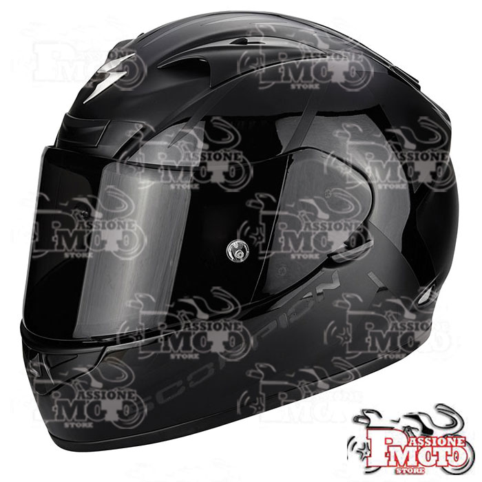 Casco Scorpion Exo 710 Air Spirit Nero Opaco-Nero