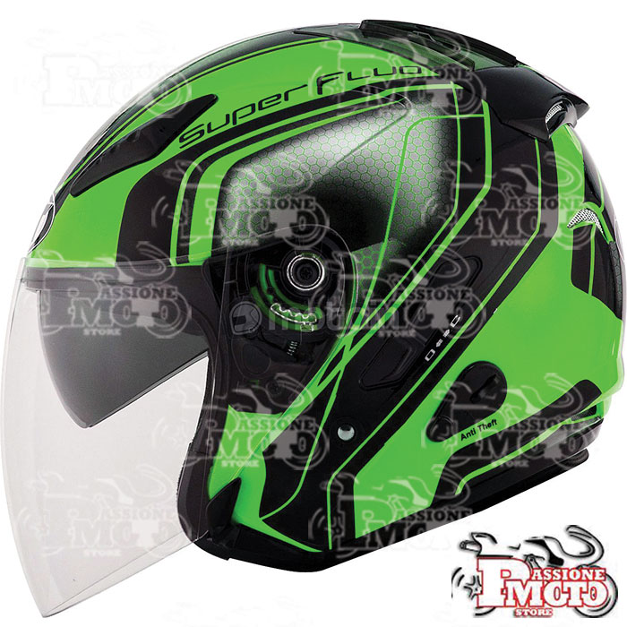 Casco Kyt Hellcat Superfluo Green