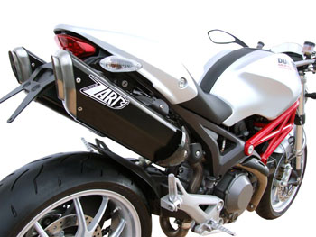 Scarichi Zard per Ducati Monster 696/796/1100 - MY 2009