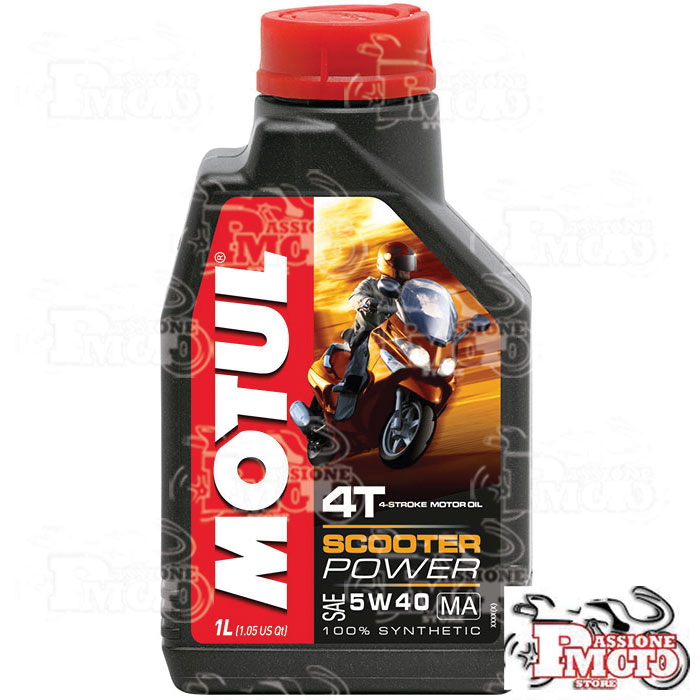 Olio Motul Scooter Power 5W40 MA lt. 1