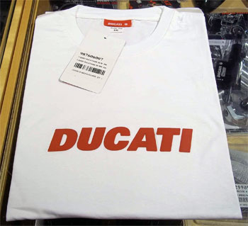 T-Shirt Ducatiana Bianca