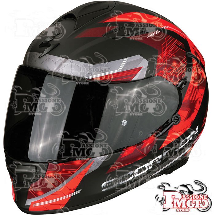 Casco Exo-510 Air Clarus Matt Black/Red