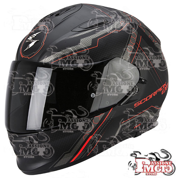 Casco Exo-510 Air Sync Matt Black/Red