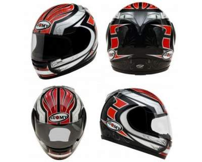 Casco Suomy Defender Red